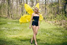 Kollektion 2012 Yellow-Fairy-Wing model: M. Huber photo: K. Wagner