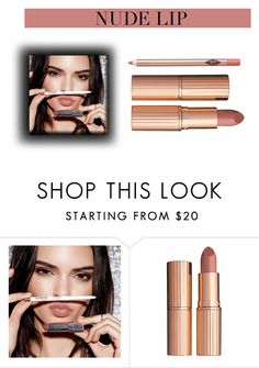"""""""Al desnudo"""" by romaosorno ❤ liked on Polyvore featuring beauty and Charlotte Tilbury"""