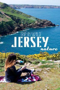 Road-trip à Jersey, version nature ! Itinéraire, bonnes adresses et jolies photos. City Trip Europe, Traveling Europe, Road Trip, Uk Destinations, Channel Islands, Blog Voyage, Trek, Nature, Around The Worlds
