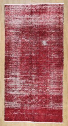 Wunderschöner Perser Teppich Vintage Handgeknüpfte alfombra 306 x 152 Patchwork