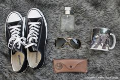 # a man thing # Converse # RayBan Aviators Hanna's PowderRoom Blog