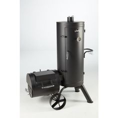 Display product reviews for Outdoor Gourmet Triton Vertical Charcoal Smoker