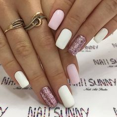 A manicure is a cosmetic elegance therapy for the finger nails and hands. A manicure could deal with just the hands, just the nails, or Nagellack Design, Nagellack Trends, Perfect Nails, Gorgeous Nails, Stylish Nails, Trendy Nails, Casual Nails, Hair And Nails, My Nails