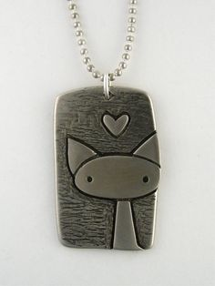 Cat Tag on Etsy,