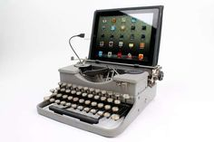 Antique Digitized Keyboards: http://www.trendhunter.com/trends/the-usb-typewriter#