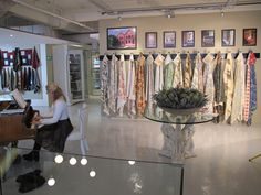 Lewis and Wood Fabrics - ST LEGER AND VINEY CT