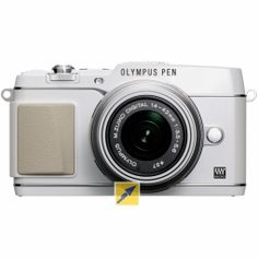Olympus E-P5 Kit 14-42 weiß/silber