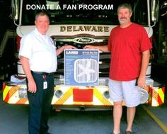 Delaware County EMA worked with People in Need (PIN) by holding a box fan drive to supply fans to residents in need.