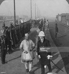 State arrival of the Maharaja of Benares at Delhi, India, 1912.By Detail from a stereoscopic card. Prabhu Narayan Singh (1855-1931) was Maharaja of Benares from 1889 until his death.By Rohit Sonkiya