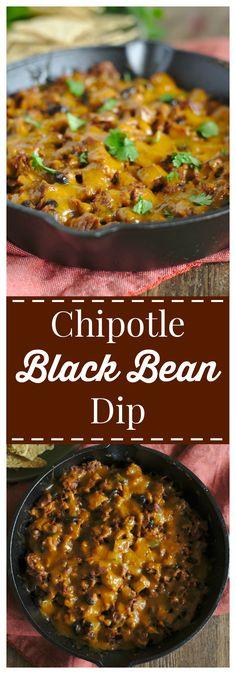 Chipotle Black Bean Dip