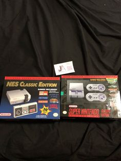 nintendo classic bundle! : nes classic & #SNES classic edition bundle (brand new) from $350.0