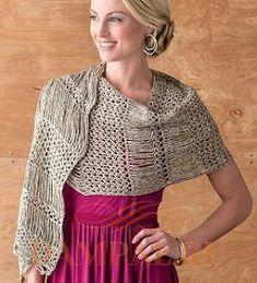ISSUU - Yumiko alexander rustic modern crochet 2014 by MinjaB Moda Crochet, Crochet Poncho, Crochet Scarves, Crochet Yarn, Knit Crochet, Crochet Box Stitch, Crochet Waffle Stitch, Crochet Stitches, Shawl Patterns