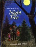 """Counting down to Christmas with a new holiday book each day! Night Tree by Eve Bunting, illustrated by Ted Rand """"On the night before Christmas we always go to find our tree. Christmas Books, Christmas Crafts For Kids, A Christmas Story, Christmas Eve, Christmas Gifts, Advent, Eve Bunting, Interactive Read Aloud, Making Connections"""