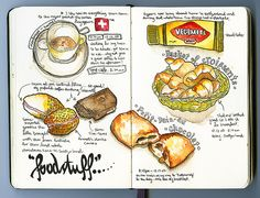 Love food diaries. By Matt O'Sullivan (aka Waxlyric).