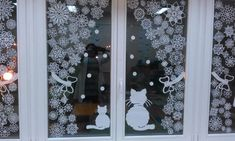 Popular New Year Decor Trends and Ideas 2021 Wall Christmas Tree, Christmas Window Decorations, Christmas And New Year, All Things Christmas, Christmas Holidays, Christmas Crafts, Xmas, Holiday Decor, Diy Beauty