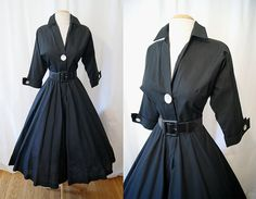 ON Hold for Rosemary Chic 1950's new look day by wearitagain