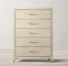 Graydon Shagreen Narrow Dresser Overall: x x Drawer Interior x x Clearance Under Dresser: fog shagreen/solid burnished brass Narrow Dresser, Ikea Dresser, Bedroom Dressers, Nightstand, Furniture Vanity, Home Decor Furniture, Bedroom Furniture, Outdoor Furniture, Narrow Bedroom