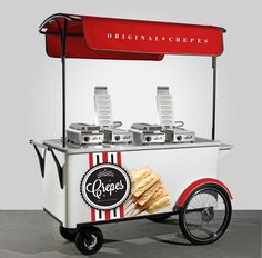 533PC Crepe on a stick Cart