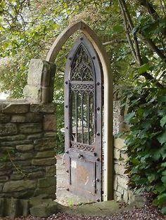 Garden door - This Ivy House