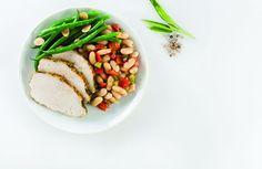 Turkey Breast, Bean Ragout & Green Beans
