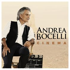 Andrea Bocelli performs brilliantly in his new album, Cinema. Featuring a duet with superstar Ariana Grande, this album is a masterpiece. Songs from movies Moon River, 3 Moon, Andrea Bocelli Albums, Superstar, Wall Of Sound, New Cinema, Cinema 2016, Music Of The Night, West Side Story