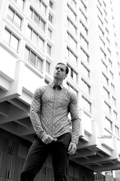 Giovanni Bonamy by Jeremy Dubois for GQ South Africa A small detail completes the outfit