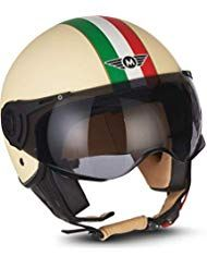 Woljay 3//4 Offener Sturzhelm Helmet Motorrad-Helm Jet-Helm Scooter-Helm Vespa-Helm Halbhelme Motorrad Helm Flat Rot XXL