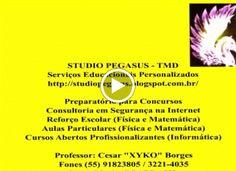 STUDIO PEGASUS - Serviços Educacionais Personalizados & TMD (T.I./I.T.): SERVIÇOS EDUCACIONAIS PERSONALIZADOS