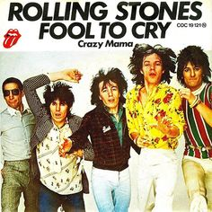 Rolling Stones Black And Blue Sessions Fool to cry Rehearsals Fool To Cry, The Fool, New Rock Music, Ron Woods, The Rolling Stones, Michael Jackson Thriller, Vinyl Cd, Prince Purple Rain, Sport