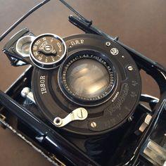 "Voighlander Ibsor DRP Folding Camera ""VAG"" 1:4,5 10,5 cm FL Lens"
