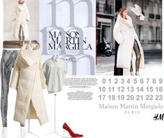 """Maison Martin Margiela with H"" by anne-symanski-goranson ❤ liked on Polyvore"