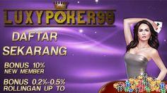 Luxy Poker 99 Adalah sebuah Situs Poker Online untuk masyarakat Indonesia dengan Minimal Deposit 10rb sudah bisa bergabung untuk main Poker Online.