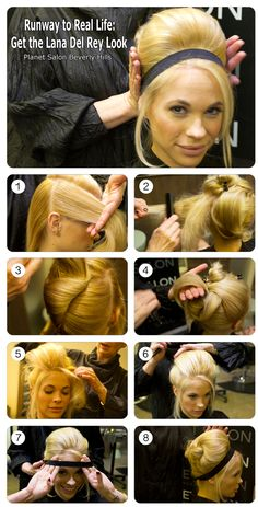 Get Lana Del Rey's hairstyle!