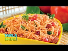 Tomato Rice Video- This spicy and tangy rice preparation is ideal for packing in a lunch box, and sure to be enjoyed by young and old alike. Enjoy it hot and fresh with papads or pack it with a katori of coconut pachadi. Curry Recipes, Rice Recipes, Vegetarian Recipes, Gujarati Recipes, Indian Food Recipes, Ethnic Recipes, Common Spices, Classic Rice, Tomato Rice