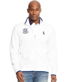Polo Ralph Lauren Big and Tall Black Watch Double-Knit Tech Jacket