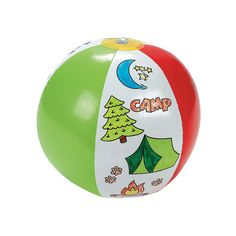 My End of Year Student Gift - a Camp Beach Ball from OrientalTrading.com.