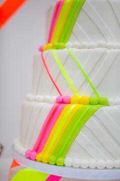 Neon Same-Sex Wedding Ideas