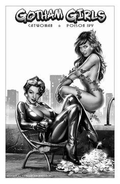 Gotham Girls by Carlos Valenzuela