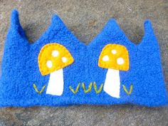 Felted Wool Crown Birthday Dress Up Waldorf