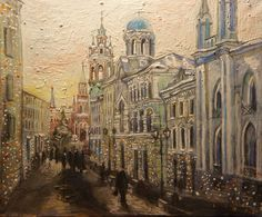 "Dasha Vorobyeva ""Walking through the streets of Moscow, Russia"""