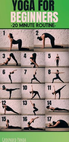 Yoga for Beginners 20 Minute Routine. Are you a complete beginner to yoga? This … Yoga for Beginners 20 Minute Routine. Are you a complete beginner to yoga? This 20 minute yoga routine for beginners will help you tone, improve… Continue Reading → Yoga Fitness, Fitness Workouts, Fitness Motivation, Physical Fitness, Health Fitness, Sport Motivation, Fitness Sport, Fitness Plan, Fitness Equipment