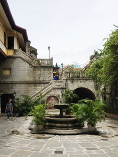 Intramuros is a walled city in Manila created by the Spanish. It is the historical area that survived the wars and earthquakes. Vigan Philippines, Manila Philippines, Philippines Travel, Fort Santiago, Philippine Tours, Places To Travel, Travel Destinations, Vaporwave Wallpaper, Intramuros