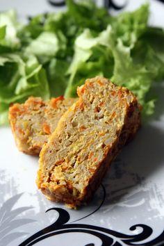Terrine aux flocons de céréales poireaux et carottes