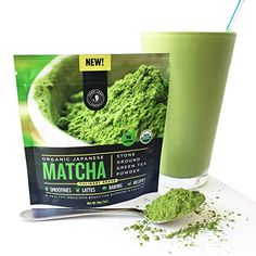 Amazon.com : Matcha Green Tea Powder, Organic - Authentic Japanese Origin, Superior Quality, Classic Culinary Grade (Smoothies, Lattes, Baking, Recipes) - Antioxidants, Energy - Jade Leaf Brand [30g Starter Size] : Grocery & Gourmet Food