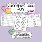 Conversation Heart sort, count, graph, and tallie {freebie}