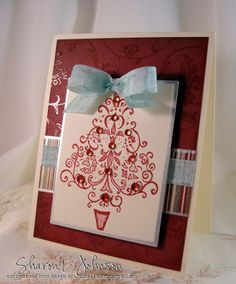 Just Believe Filigree Tree by notimetostamp - Cards and Paper Crafts at Splitcoaststampers