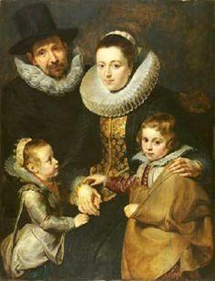 Peter Paul Rubens, Family of Jan Brueghel, The Elder, 1613-15