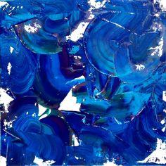 """Celine Weber, """"Illusion"""" Acrylique 60X60"""