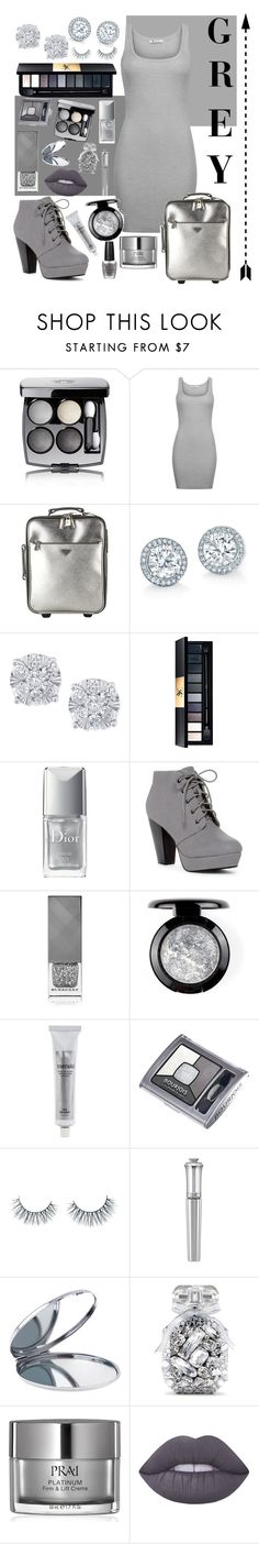 """Grey Scale💍"" by lara-fashion22 ❤ liked on Polyvore featuring Chanel, T By Alexander Wang, Prada, Effy Jewelry, Christian Dior, Burberry, Meraki, Bourjois, Unicorn Lashes and Morgan Lane"