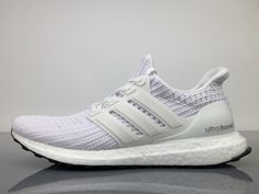 06fa15874 Adidas Ultra Boost 4 BB6168 White Black Real Boost for Sale  40-45 Nike